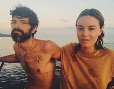 Devendra Banhart is listed (or ranked) 2 on the list Camille Rowe Loves and Hookups