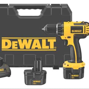 DeWalt is listed (or ranked) 3 on the list The Best Power Tool Brands