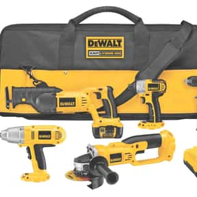 DeWalt is listed (or ranked) 2 on the list The Best Tool Brands