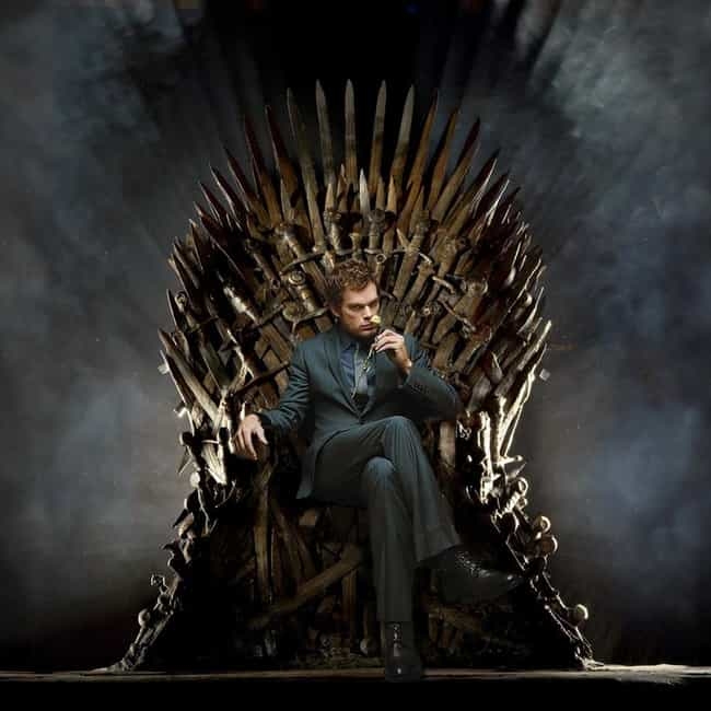Dexter Morgan is listed (or ranked) 4 on the list 15 Famous People Sitting On The Iron Throne