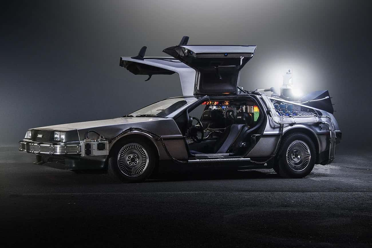 Doc Brown's DeLorean DMC-1 is listed (or ranked) 1 on the list 23 Cars You Wish You'd Had as a Kid