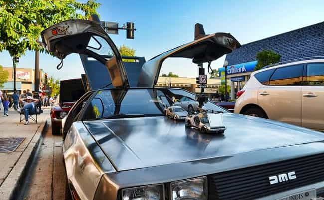 DeLorean DMC-12 is listed (or ranked) 3 on the list The Slickest Cars with Gull Wing Doors