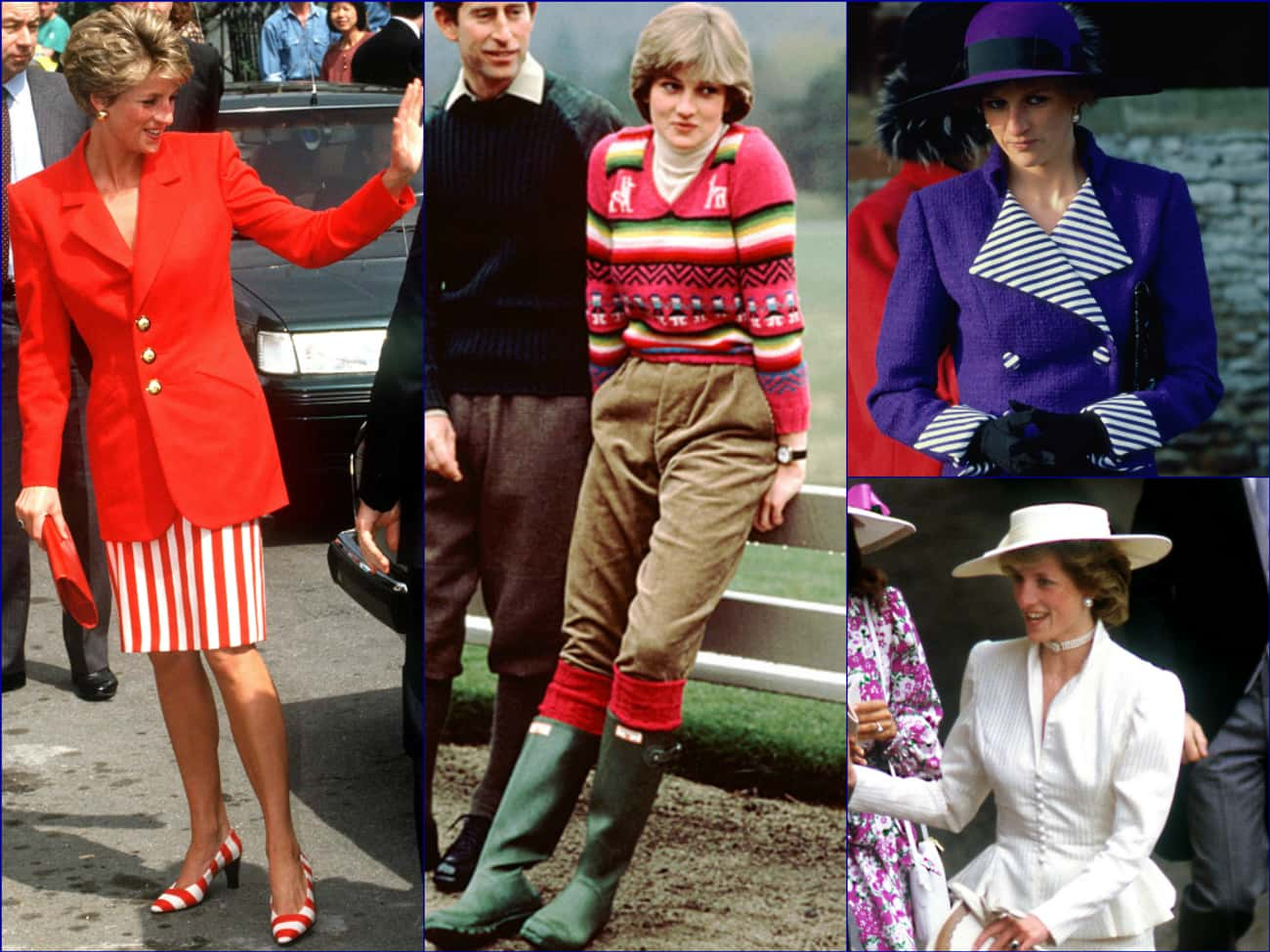 Diana, Princess of Wales is listed (or ranked) 1 on the list The Top Celebrity Fashion Icons of All Time