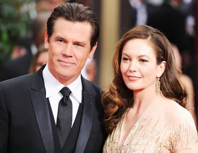 Diane Lane is listed (or ranked) 2 on the list Josh Brolin Loves and Hookups