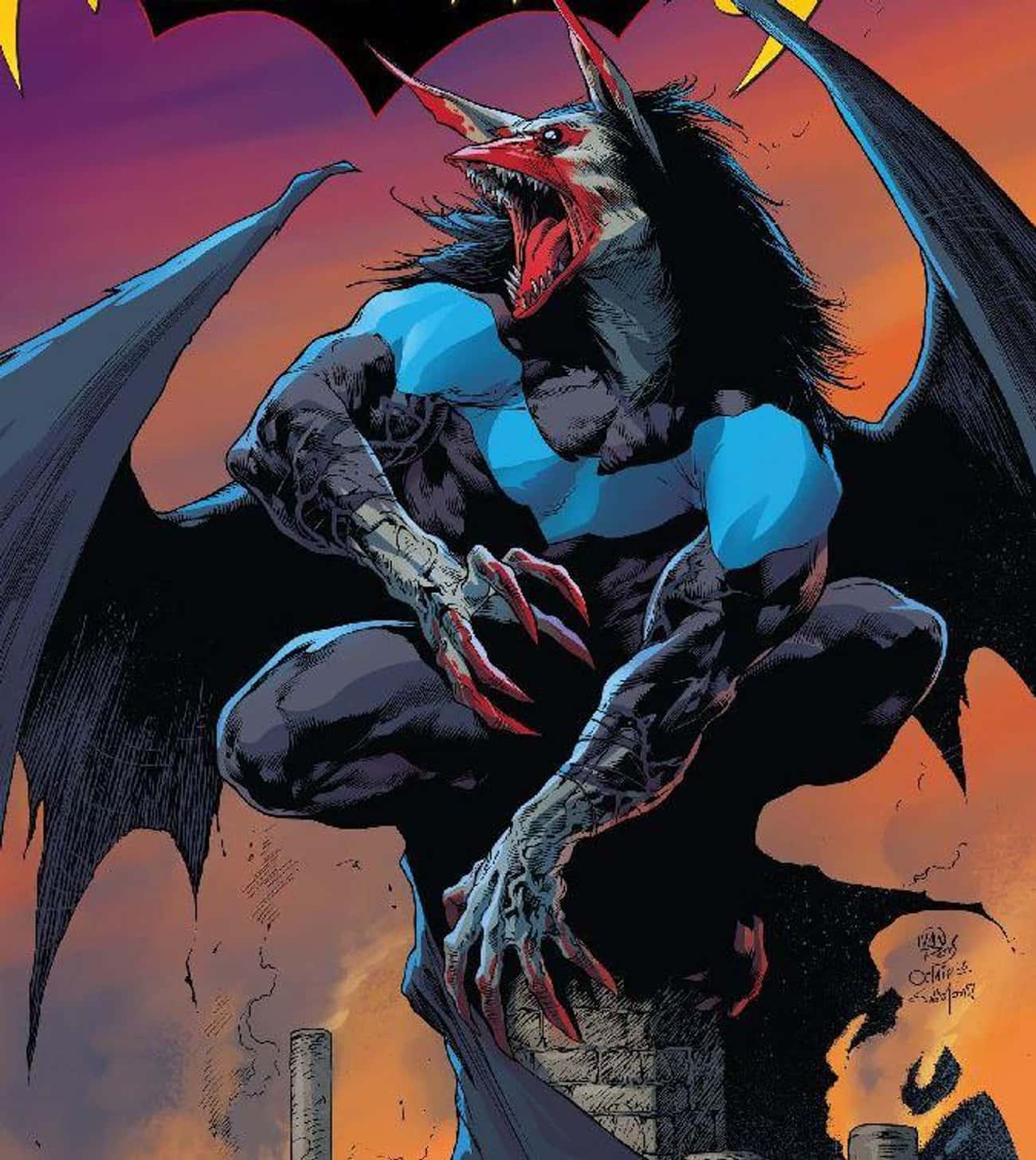 Nightwing Became A Man-Bat