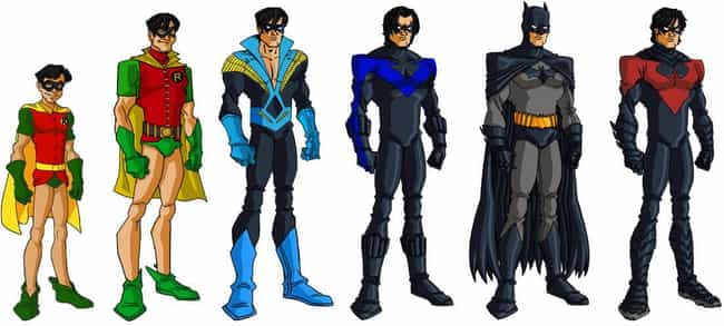 Dick Grayson is listed (or ranked) 1 on the list The Best Sidekicks in Comics