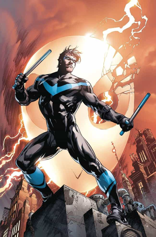 Dick Grayson is listed (or ranked) 2 on the list The Hottest Male Comic Book Characters