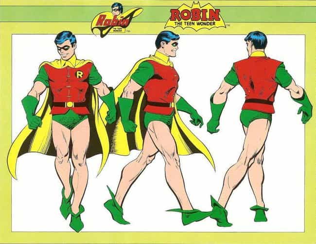 Dick Grayson is listed (or ranked) 3 on the list The Most Impractical Footwear Sported By Superheroes