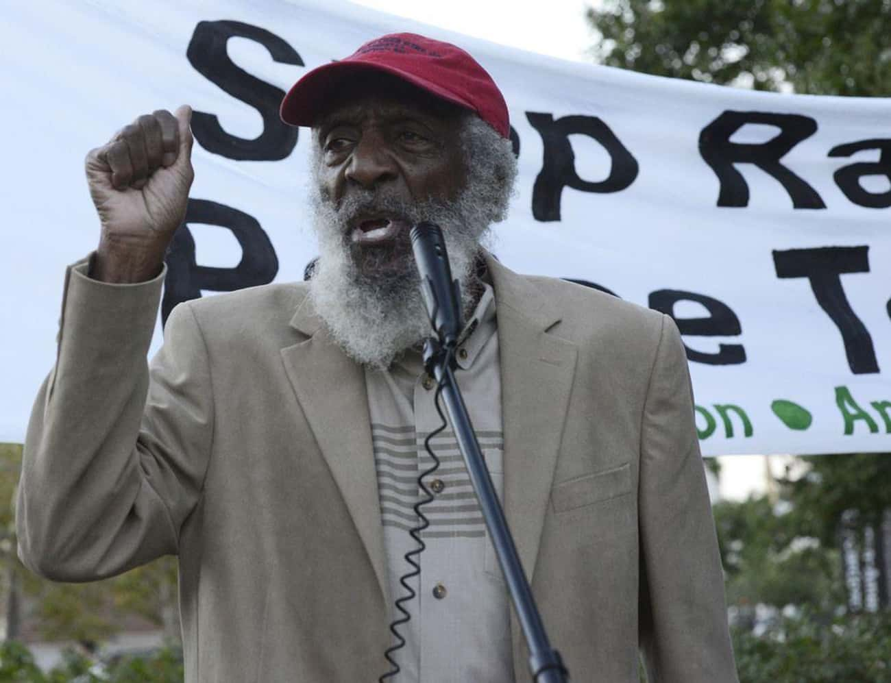 Dick Gregory is listed (or ranked) 4 on the list Famous Survivors of Hodgkin's Lymphoma