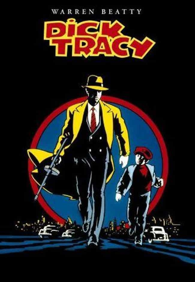 Dick Tracy is listed (or ranked) 3 on the list 14 Movies Tim Burton Has Given His Personal Stamp Of Approval