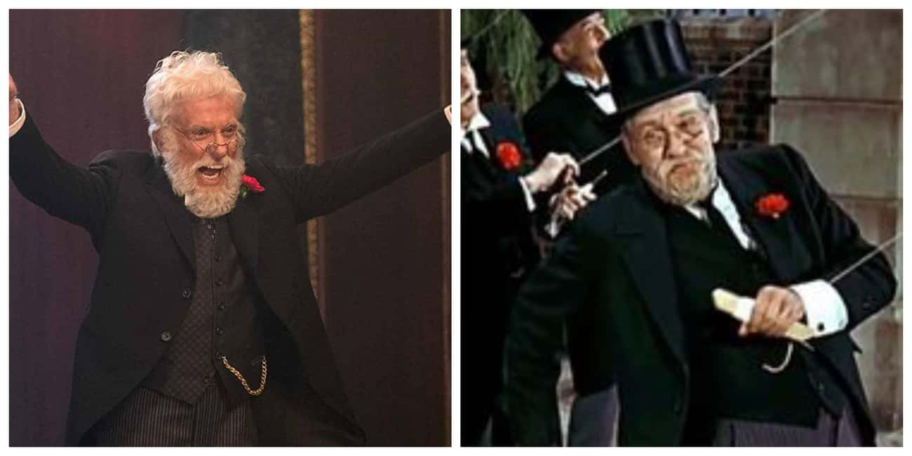 Dick Van Dyke As Mr. Dawes Jr. is listed (or ranked) 1 on the list All The Actors In 'Mary Poppins' Vs. Their Counterparts In 'Mary Poppins Returns'