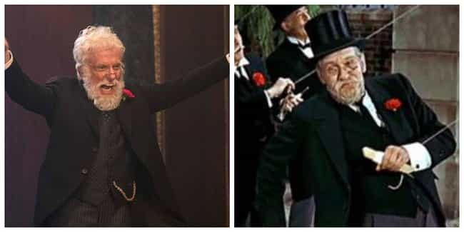 Dick Van Dyke is listed (or ranked) 1 on the list All The Actors In 'Mary Poppins' Vs. Their Counterparts In 'Mary Poppins Returns'