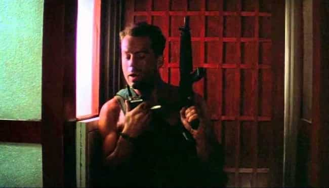 Die Hard is listed (or ranked) 1 on the list The Most Memorable Action Movie Quotes