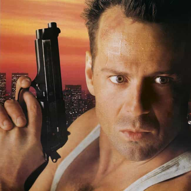 Die Hard is listed (or ranked) 3 on the list The Greatest Action Movies of All Time