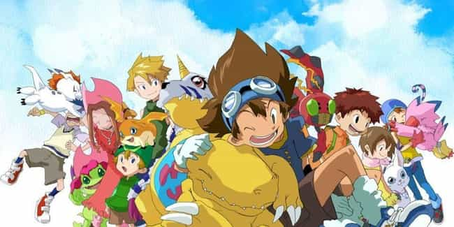 Digimon Adventure is listed (or ranked) 3 on the list The 13 Best Anime Like Beyblade Burst