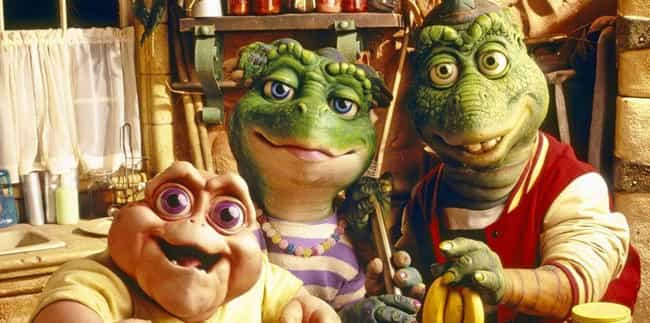 Dinosaurs is listed (or ranked) 2 on the list The 13 Strangest Kids' Shows From The '90s All Had Puppets