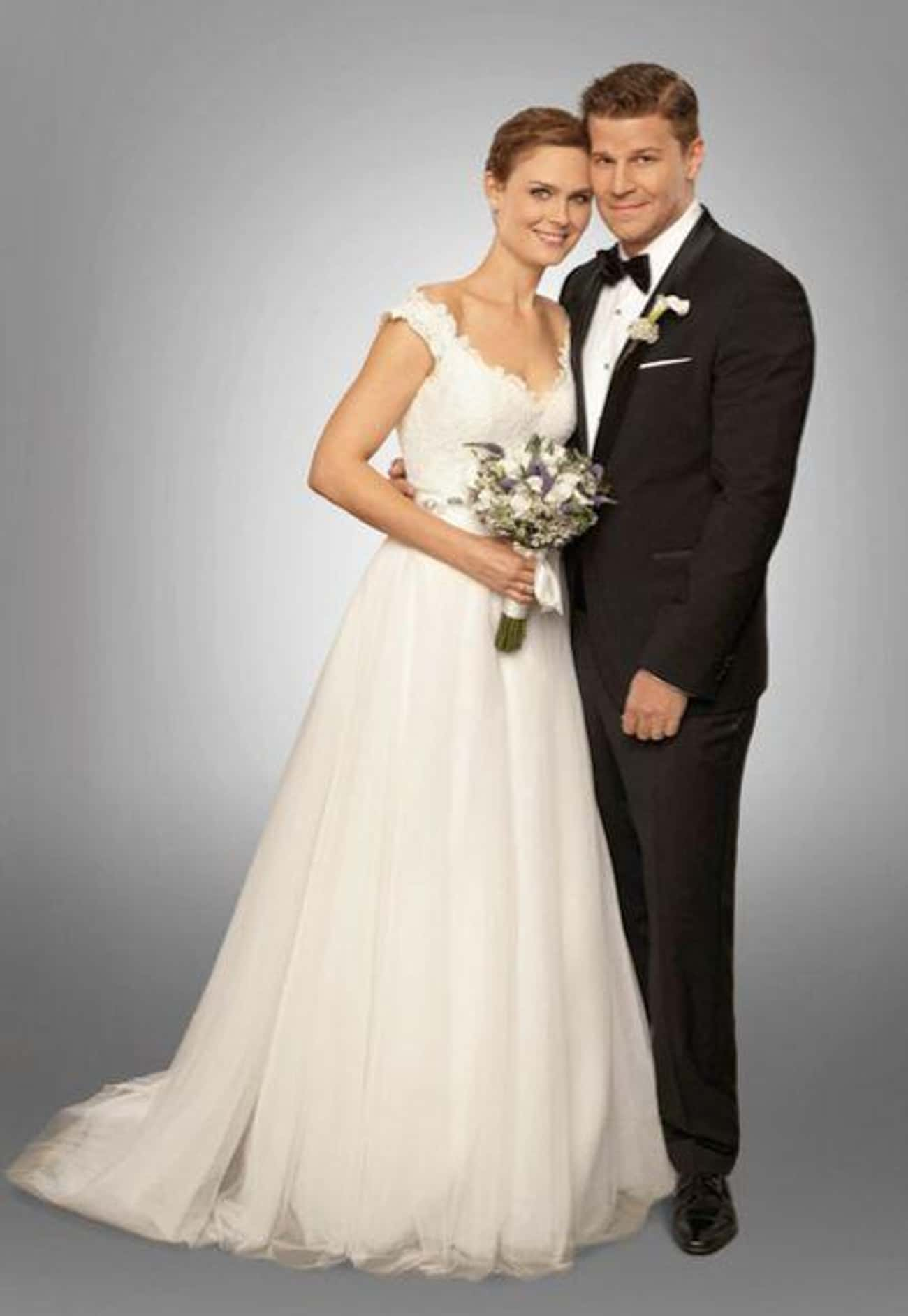 """Temperance """"Bones"""" Brennan is listed (or ranked) 4 on the list The 36 Best Wedding Dresses in the History of Television"""