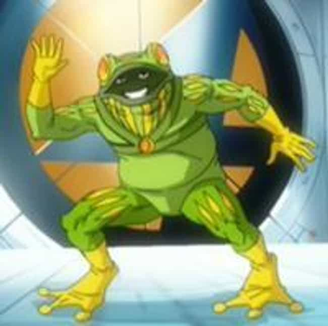 Frog-Man is listed (or ranked) 5 on the list The Most Ridiculous Superheroes Ever