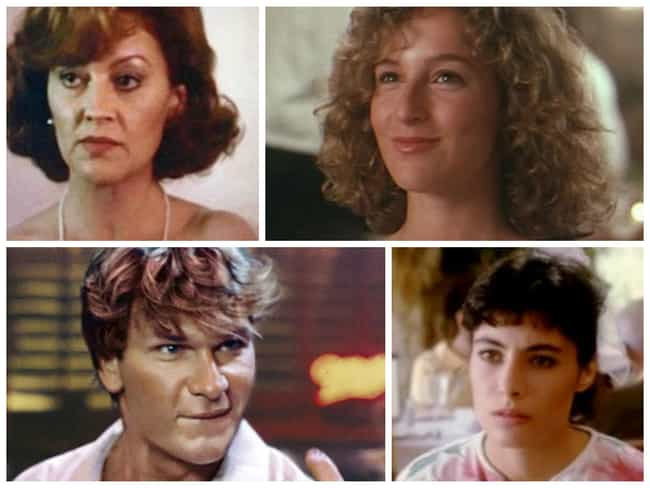 Dirty Dancing is listed (or ranked) 5 on the list The Sexiest Movie Casts from the 80s