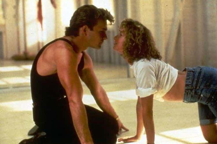 Patrick Swayze And Jennifer Grey In 'Dirty Dancing'
