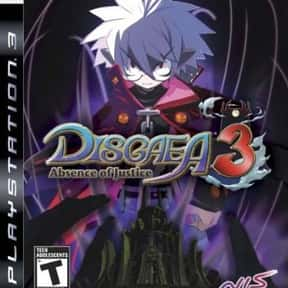 Disgaea 3: Absence of Justice is listed (or ranked) 4 on the list Nippon Ichi Games List