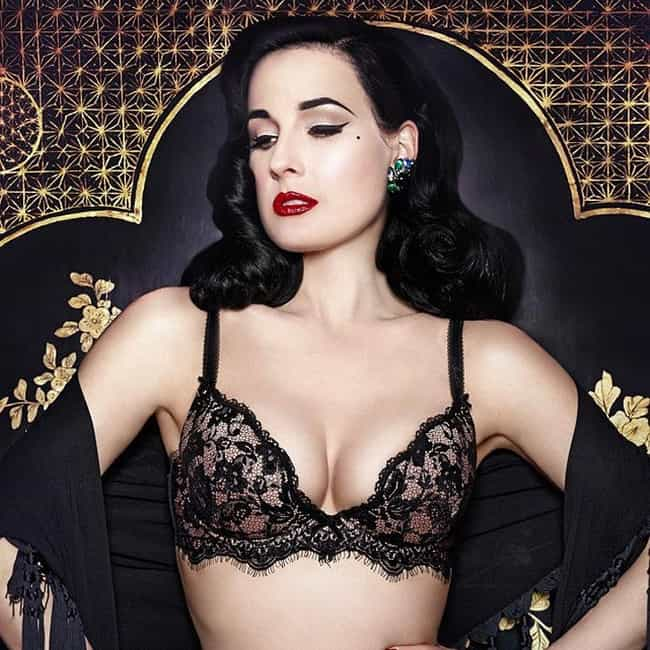 Dita Von Teese is listed (or ranked) 4 on the list Jeremy Piven's Loves & Hookups