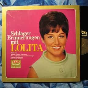 Lolita is listed (or ranked) 20 on the list The Best Schlager Bands/Artists