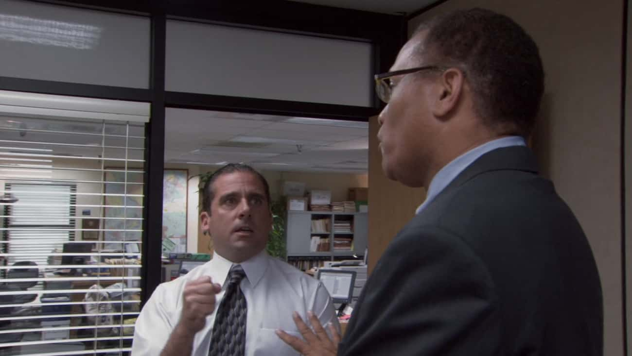 When Michael Reenacts A Chris  is listed (or ranked) 1 on the list All The Times Michael Scott Was Bleeped Out On 'The Office'