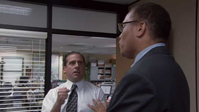 Diversity Day is listed (or ranked) 1 on the list All The Times Michael Scott Was Bleeped Out On 'The Office'
