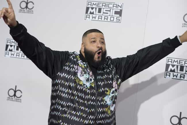 DJ Khaled is listed (or ranked) 1 on the list Celebs Who Have Aced Hiding Their Secret Social Media Accounts