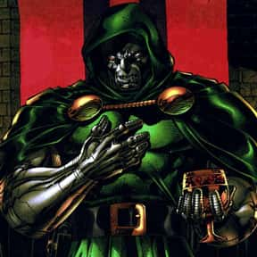 Doctor Doom is listed (or ranked) 15 on the list The Best Comic Book Characters Created by Stan Lee