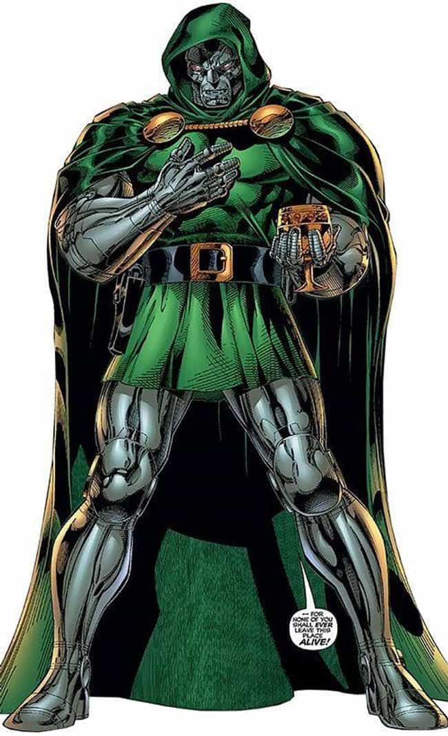 Doctor Doom is listed (or ranked) 3 on the list The Best Archenemies in Marvel Comics