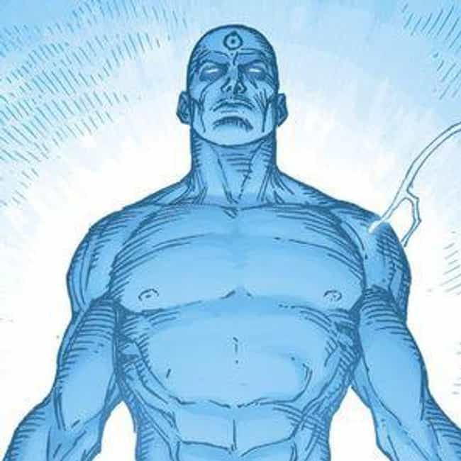 Doctor Manhattan is listed (or ranked) 4 on the list The Strongest Time-Traveling Superheroes, Ranked