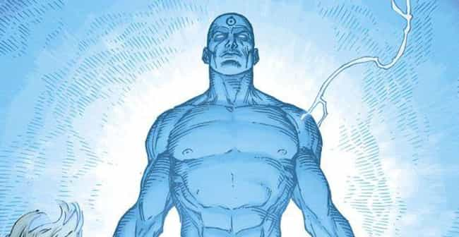 Doctor Manhattan is listed (or ranked) 4 on the list The Best Superheroes With The Power OfTeleportation