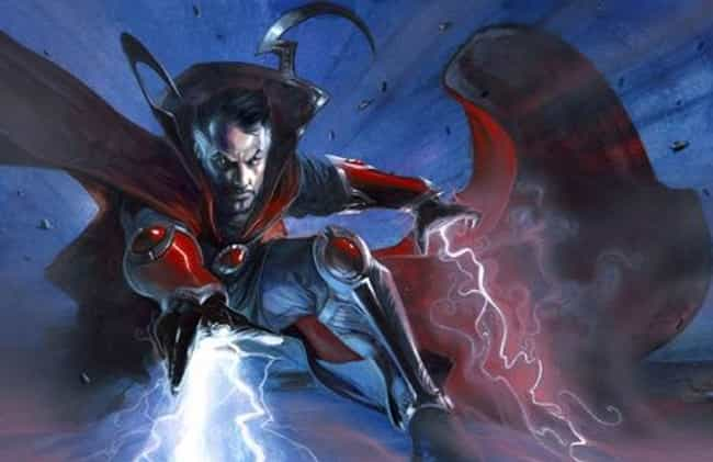 Doctor Strange is listed (or ranked) 2 on the list The Best Superhero Capes & Cloaks in Comics