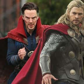 Doctor Strange is listed (or ranked) 5 on the list The Best Characters In The Thor Movies
