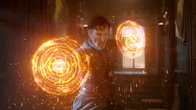 Doctor Strange is listed (or ranked) 1 on the list Which 'Avengers' Power Do You Want Most?