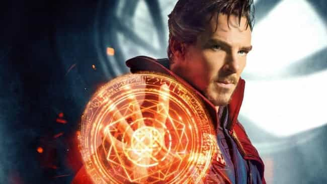 Doctor Strange is listed (or ranked) 2 on the list The Greatest Comic Book Healers