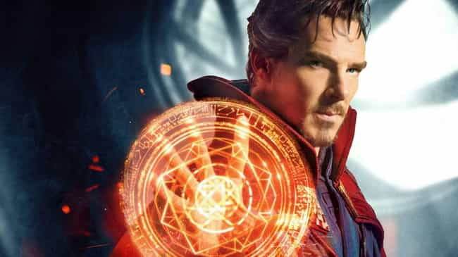 Doctor Strange is listed (or ranked) 2 on the list The Strongest Characters In The MCU, Ranked