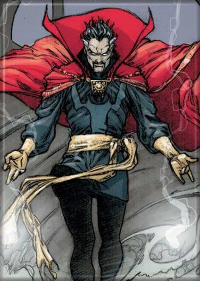 Doctor Strange is listed (or ranked) 3 on the list The Strongest Time-Traveling Superheroes, Ranked
