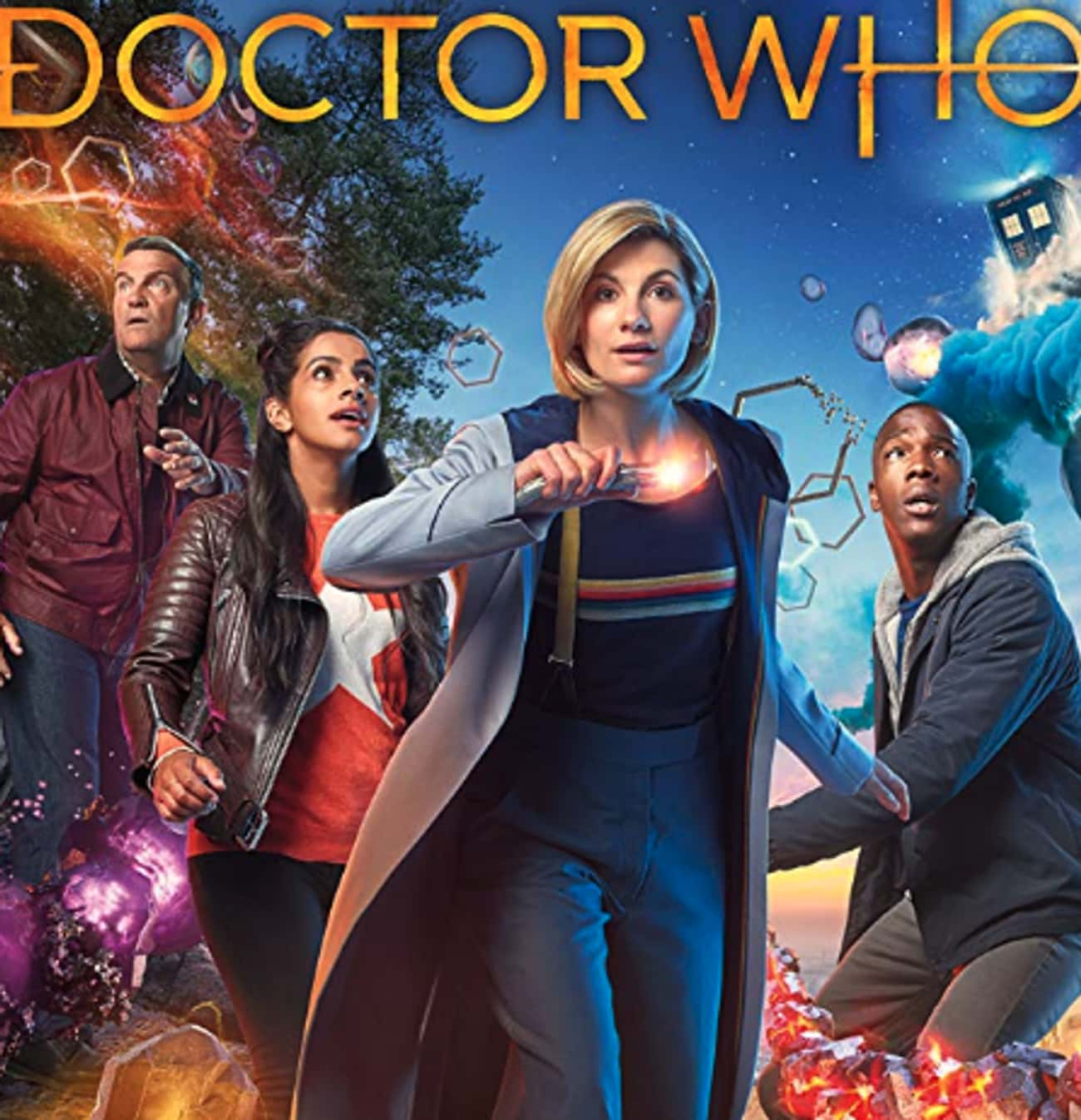 Doctor Who is listed (or ranked) 1 on the list Every 'Doctor Who' Show & Spinoff Across Time And Space