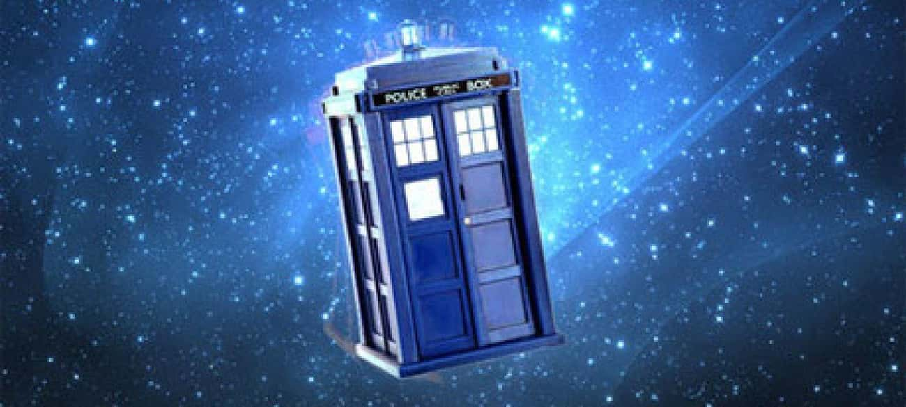 TARDIS ('Doctor Who') is listed (or ranked) 2 on the list The Best Fictional Time Machines (As Opposed To Real Ones)