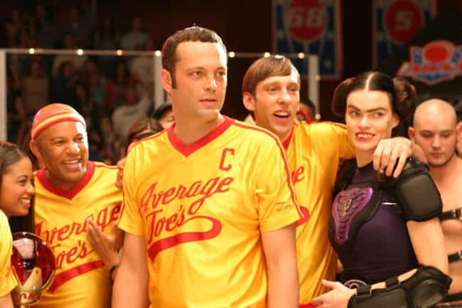 DodgeBall: A True Underd... is listed (or ranked) 2 on the list Fictional Sports Teams You Wish You Could Root For IRL