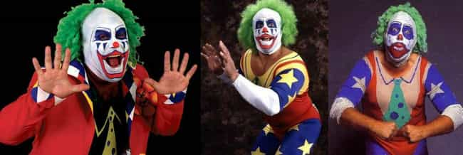 Doink the Clown is listed (or ranked) 3 on the list 11 Wrestling Gimmicks That Were Passed Down to Other Wrestlers