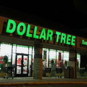 Dollar Tree is listed (or ranked) 7 on the list List of Variety Stores Companies