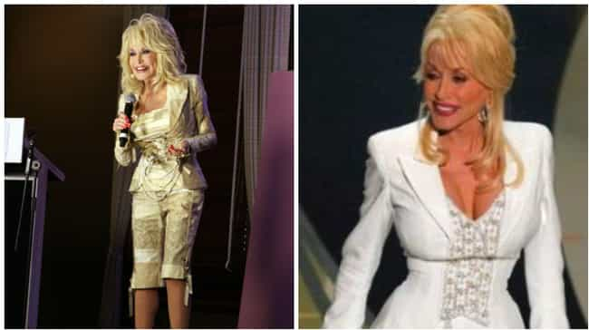 Dolly Parton is listed (or ranked) 3 on the list Celebs Who Insured Body Parts