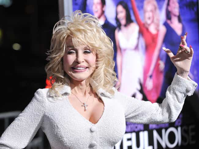 Dolly Parton is listed (or ranked) 4 on the list The Most Obvious Celebrity Plastic Surgery