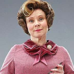 Dolores Umbridge is listed (or ranked) 25 on the list The Greatest Movie Villains Of All Time