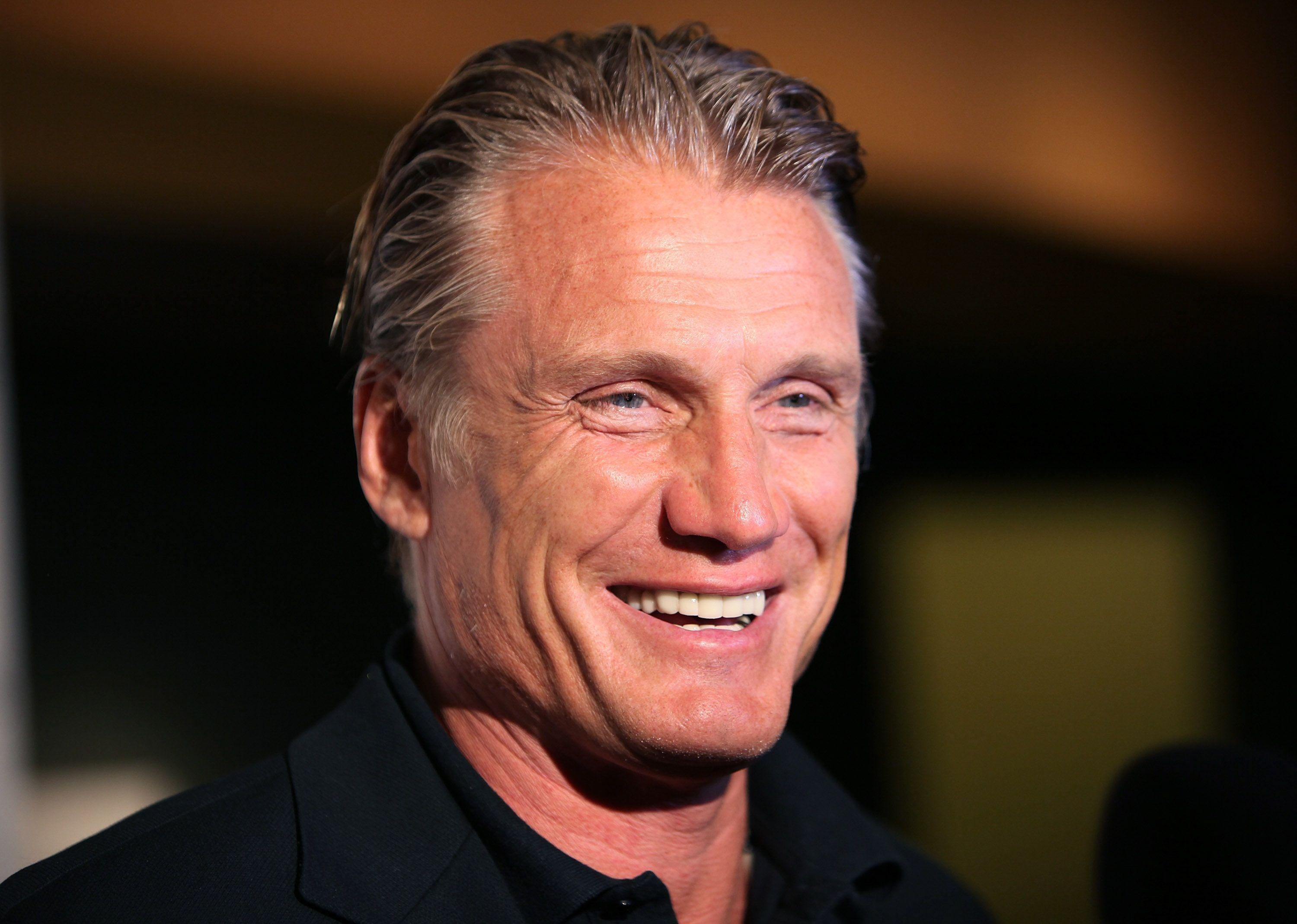 Dolph Lundgren - he's 56 - and has an I.Q. over 160 ...  |Dolph Lundgren