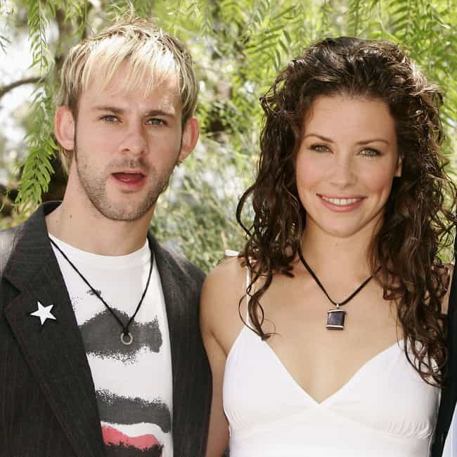 Dominic Monaghan is listed (or ranked) 2 on the list Evangeline Lilly Loves and Hookups
